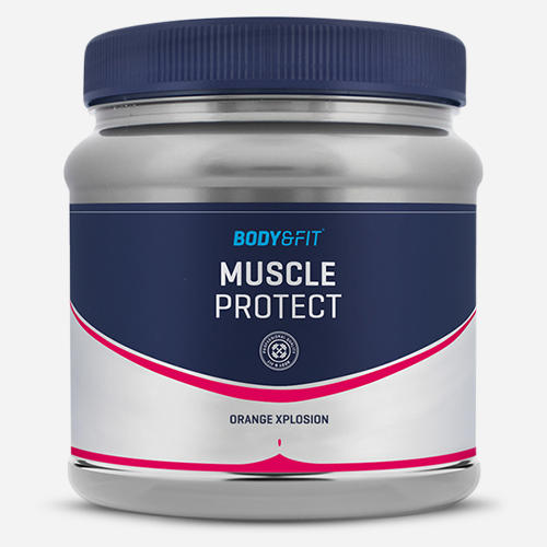 Muscle Protect - Body & Fit - Apelsinexplosion - 500 Gram (38 Doser)