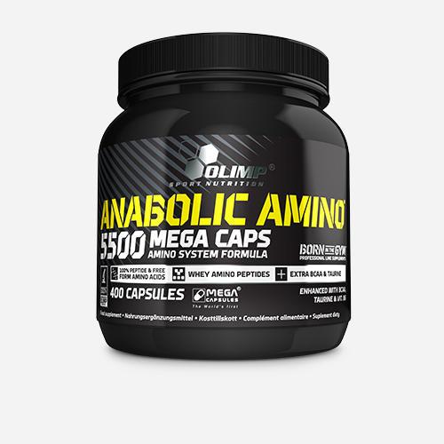 Anabolic Amino 5500 Mega Caps - Olimp Supplements - 400 Kapslar