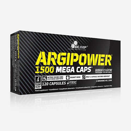 Argi Power - Olimp Supplements - 120 Kapslar (4 Månader)