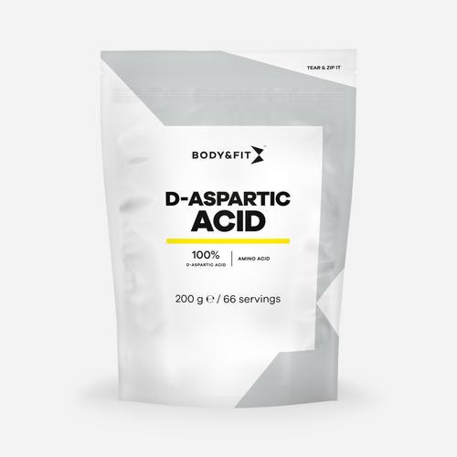 D-Aspartic Acid - Body & Fit - Utan Smak - 200 Gram