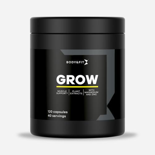 Grow - Body & Fit - 120 Kapslar