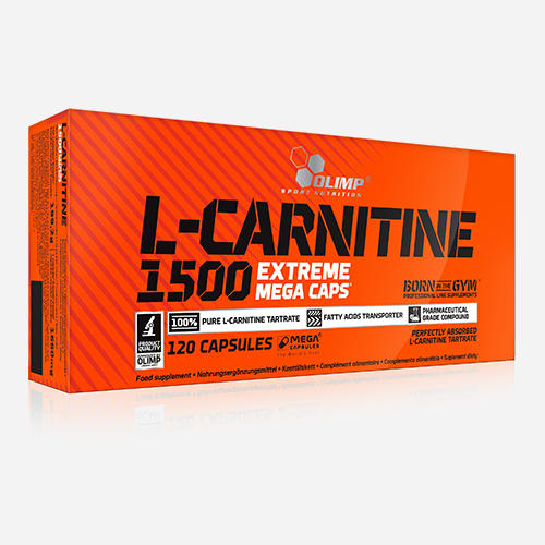 L-Carnitine 1500 Mega Caps - Olimp Supplements - 120 Kapslar
