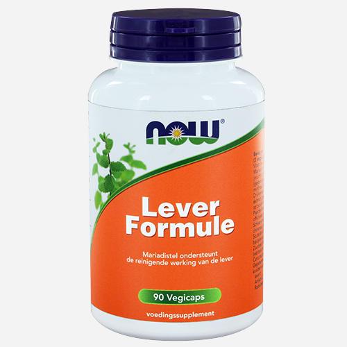 Liver Formula - Now Foods - 90 Grönsakskapslar