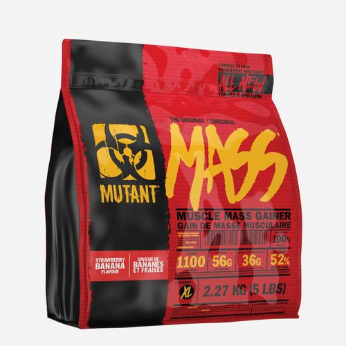 Mutant Mass - Mutant - Jordgubb Banan - 2200 Gram (8 Shakes)