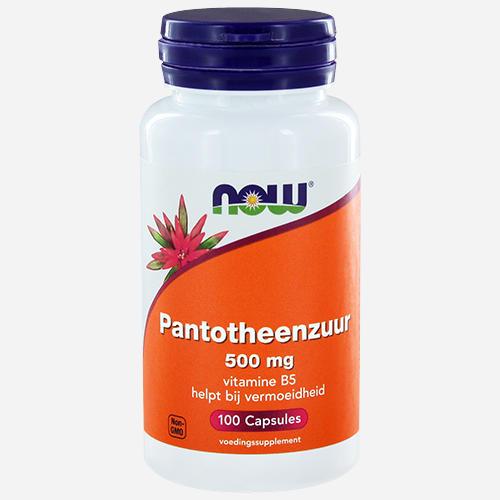 Pantothenic Acid (vitamin B5) - Now Foods - 100 Kapslar