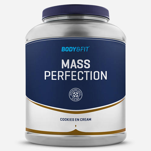 Mass Perfection - Body & Fit - Milkshake Cookies & Cream - 2200 Gram (36 Shakes)