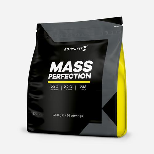 Mass Perfection - Body & Fit - Milkshake Vanilj - 2200 Gram (36 Shakes)