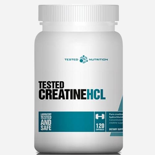 Tested Creatine HCL - Tested Nutrition - 120 Kapslar