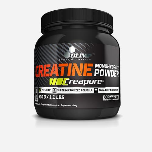 Creapure® Creatine - Olimp Supplements - Utan Smak - 500 Gram