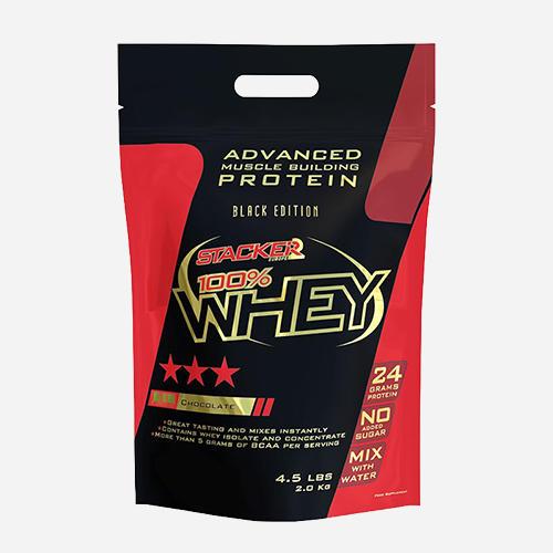 100% Whey - Stacker 2 - Banan - 2000 Gram (66 Shakes)