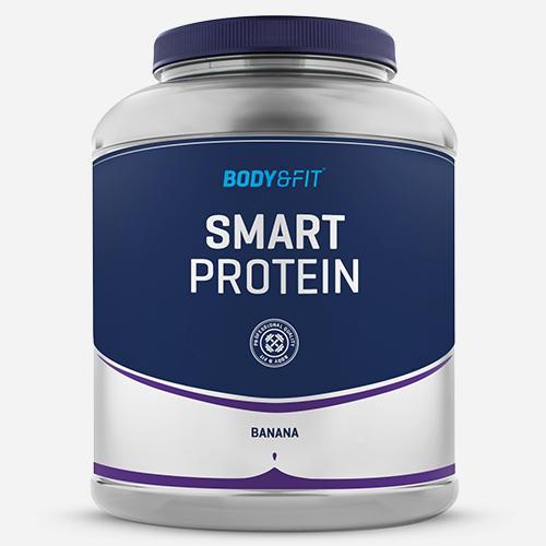 Smart Protein - Body & Fit - Milkshake Banan - 2000 Gram (71 Shakes)