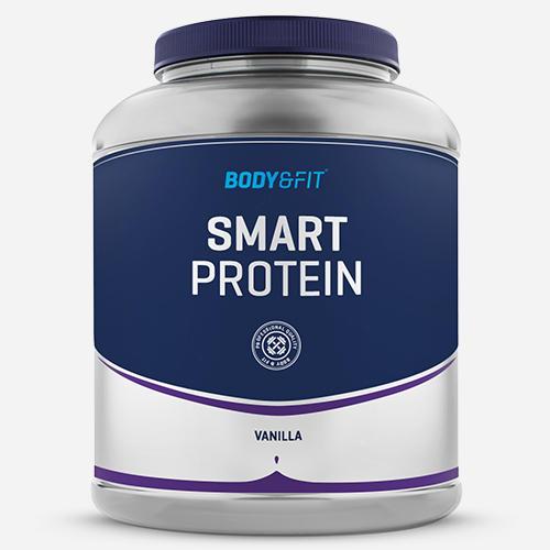 Smart Protein - Body & Fit - Milkshake Vanilj - 2000 Gram (71 Shakes)