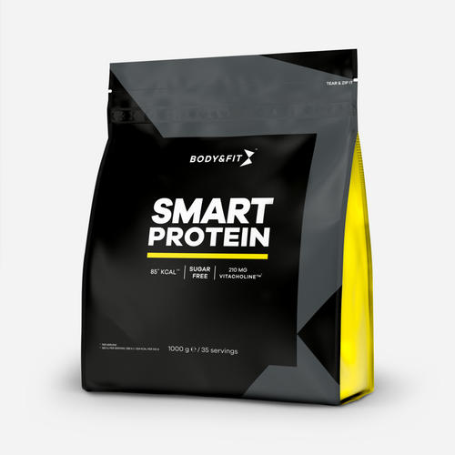 Smart Protein - Body & Fit - Milkshake Med Bounty, Choklad Och Kokos - 1000 Gram (35 Shakes)