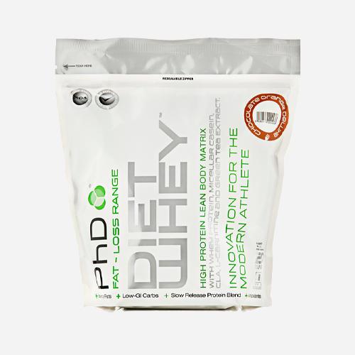 Diet Whey - PHD Nutrition - Belgisk Choklad - 1000 Gram (40 Shakes)