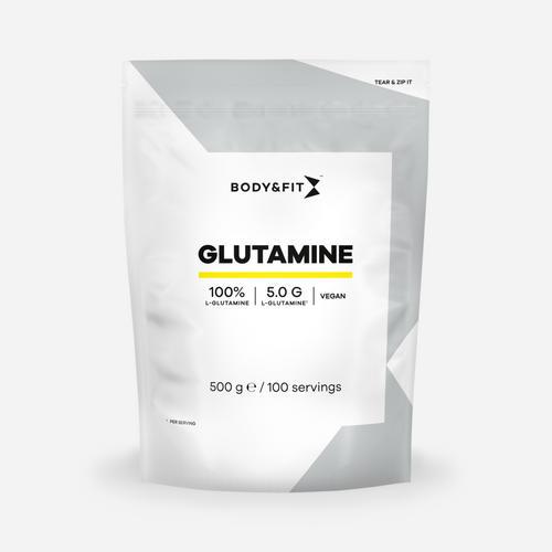 L-Glutamine - Body & Fit - Utan Smak - 500 Gram