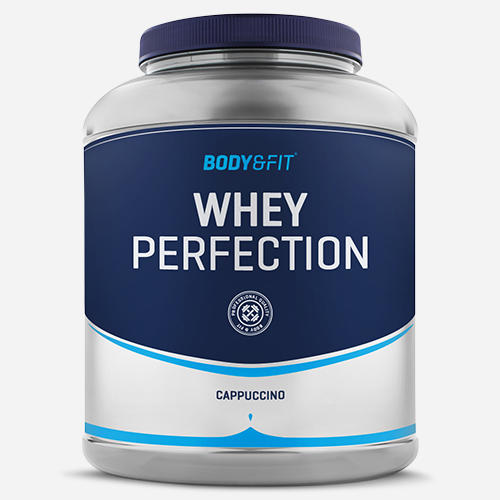 Whey Perfection - Body & Fit - Milkshake Cappuccino - 2268 Gram (81 Shakes)