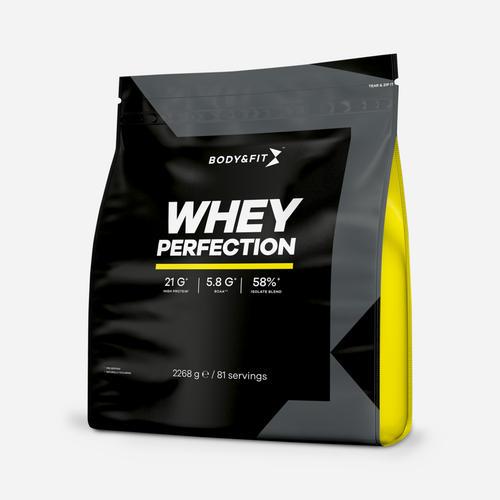 Whey Perfection - Body & Fit - Cookies & Cream Milkshake - 2268 Gram (81 Shakes)