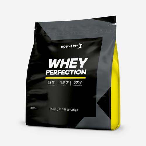 Whey Perfection - Body & Fit - Milkshake Hallon - 2268 Gram (81 Shakes)