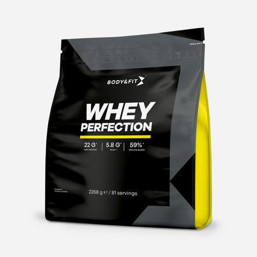 Whey Perfection - Body & Fit - Milkshake Vit Choklad - 2268 Gram (81 Shakes)