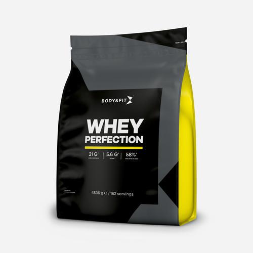 Whey Perfection - Body & Fit - Milkshake Hallon - 4536 Gram (162 Shakes)