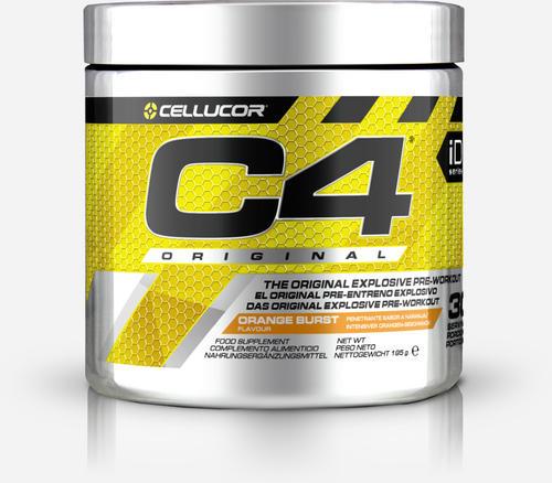 C4 Original Pre-Workout - Cellucor - Apelsin - 195 Gram (30 Doser)