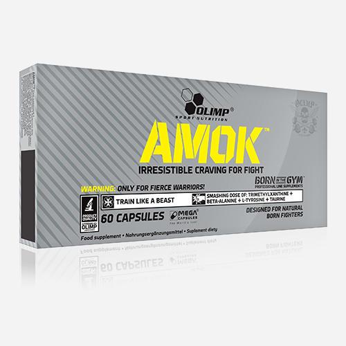 Amok - Olimp Supplements - 60 Kapslar