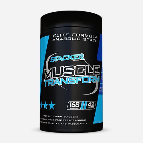 Muscle Transform - Stacker 2 - 168 Kapslar