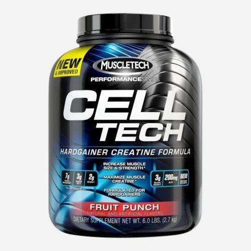Cell Tech - Muscletech - Apelsin - 2720 Gram (55 Doser)