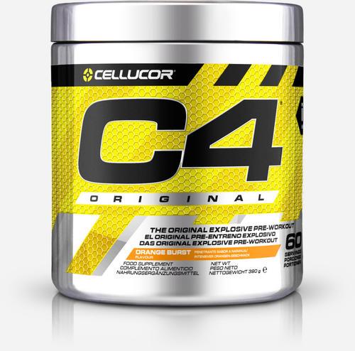 C4 Original Pre-Workout - Cellucor - Apelsin - 390 Gram (60 Doser)