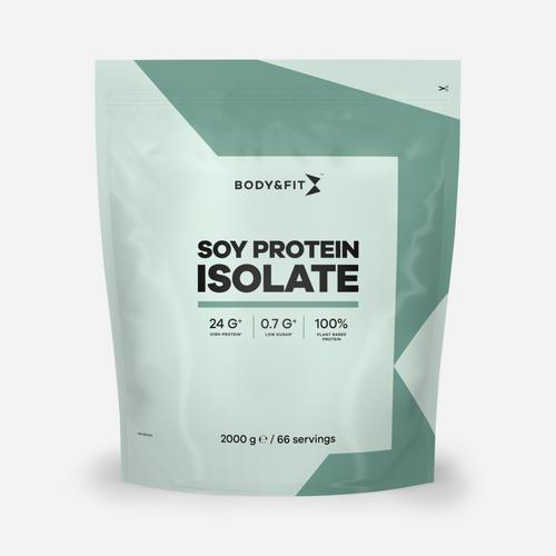Soy Protein Isolate - Body & Fit - Bananshake - 2000 Gram (66 Shakes)