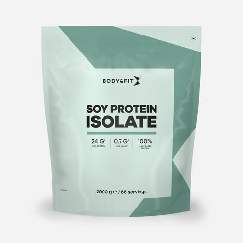 Soy Protein Isolate - Body & Fit - Vanilj - 2000 Gram (66 Shakes)