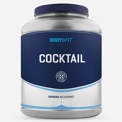 Cocktail - Body & Fit - Banan - 2000 Gram (40 Shakes)