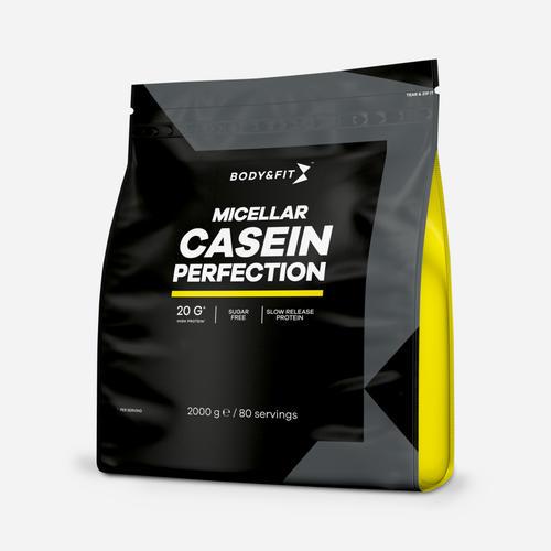 Micellar Casein Perfection - Body & Fit - Milkshake Banan - 2000 Gram (80 Shakes)