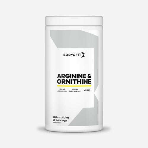 Arginine & Ornithine - Body & Fit - 240 Kapslar (2 Månader)