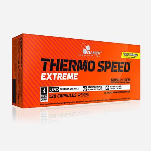 Thermo Speed Extreme (Mega Capsules) - Olimp Supplements - 120 Kapslar (2 Månader)