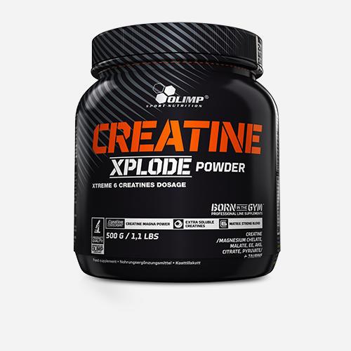 Creatine Xplode - Olimp Supplements - Apelsin - 500 Gram (3 Månader)