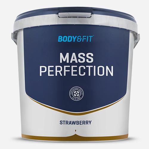 Mass Perfection - Body & Fit - Milkshake Jordgubb - 4400 Gram (73 Shakes)