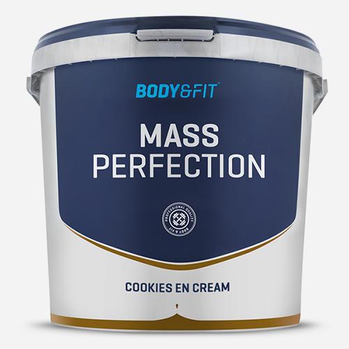 Mass Perfection - Body & Fit - Milkshake Cookies & Cream - 4400 Gram (73 Shakes)