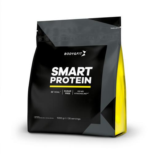 Smart Protein - Body & Fit - Milkshake Vanilj - 1000 Gram (35 Shakes)