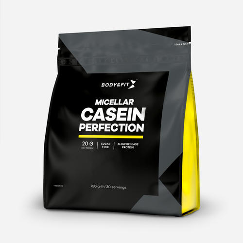 Micellar Casein Perfection - Body & Fit - Milkshake Jordgubb - 750 Gram (30 Shakes)