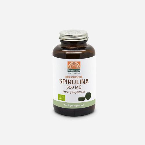 Absolute Spirulina 500mg Bio - Mattisson - 240 Tabletter