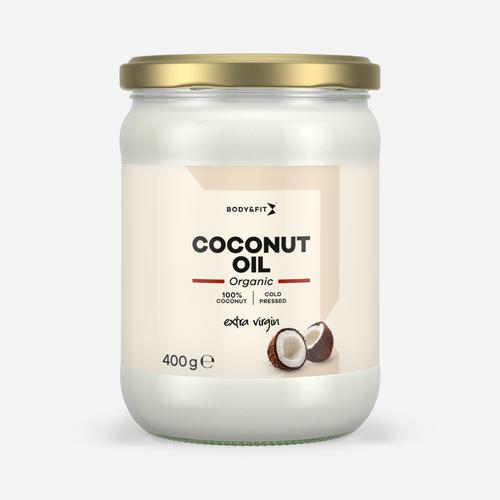 Organic Coconut Oil Extra Virgin - Body & Fit - Naturel - 400 Gram