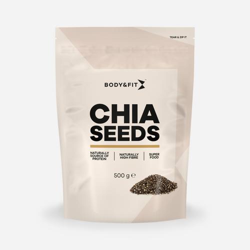 Pure Chia Seeds - Body & Fit - Naturel - 500 Gram