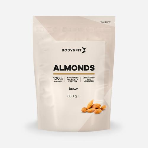 Pure Almonds Brown - Body & Fit - Mandel - 500 Gram