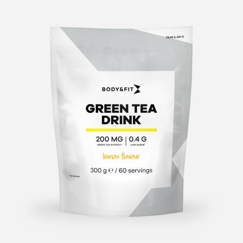 Green Tea Drink - Body & Fit - Citron - 300 Gram (60 Doser)