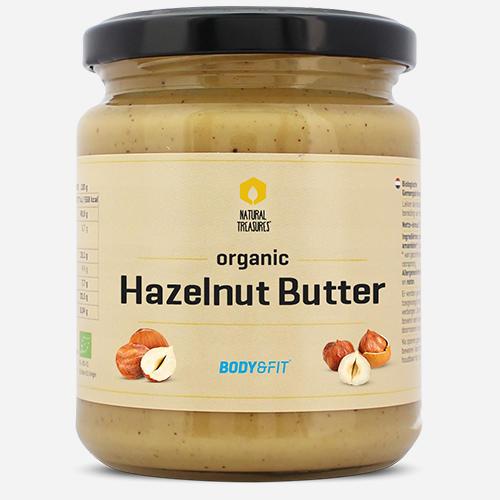 Hazelnut Butter Organic - Body & Fit - Hasselnöt - 170 Gram