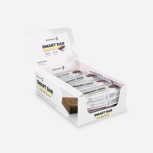 Smart Bar - Body & Fit - Läcker Choklad - 540 Gram (12 Bars)