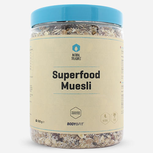 Superfood Muesli - Body & Fit - Naturel - 500 Gram