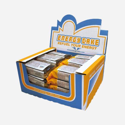 Energy Cake - Energy Cake - Vit Choklad - 3000 Gram (24 Bitar)