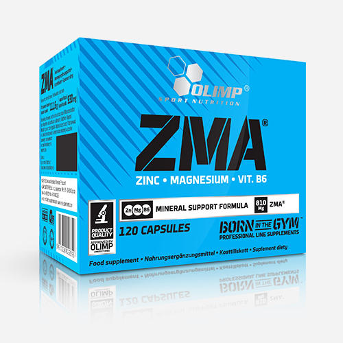 ZMA Olimp - Olimp Supplements - 120 Kapslar